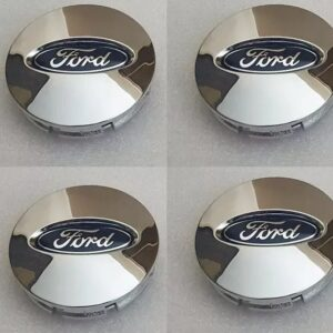 4x Centro Tapon Rin Para Ford 65mm Cromados B1