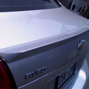 Alerón De Bajo Perfil Original Chevrolet Aveo 2009 - 2017 B1