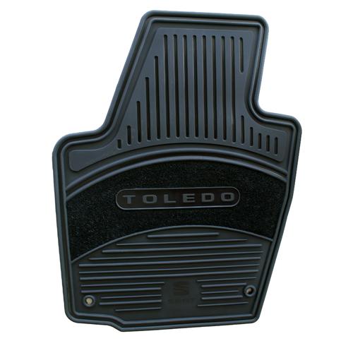 Tapetes Originales Seat Toledo Color Negro Envio Gratis!