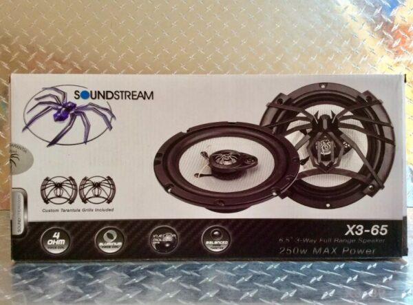 Bocinas Soundstream X3-65 Medida 6.5 Pulgadas (redondas)B1