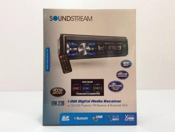 Estereo Universal Soundstream Bluetooth Usb Con Bocinas 6.5 Y 6x9 B1