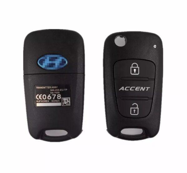 Carcasa De Llave Attitude Dodge Accent Hyundai B1