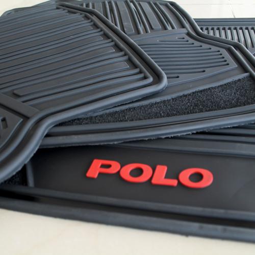 Tapetes Originales Volkswagen Polo Letras Rojas