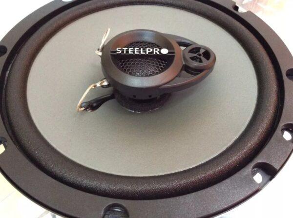 Auto Estereo Universal Steelpro Carbon-325 Bluetooth Con Bocinas 6.5 b1