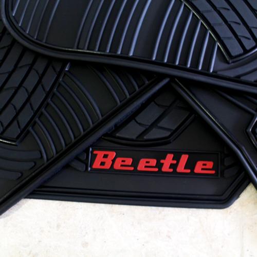 Tapetes Originales Vw Beetle Letras Rojas 2006-2017