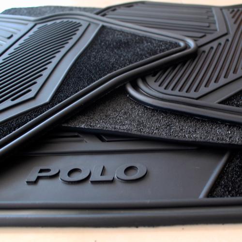 Tapetes Originales Vw Polo 2009-2019 Uso Rudo Envio Gratis