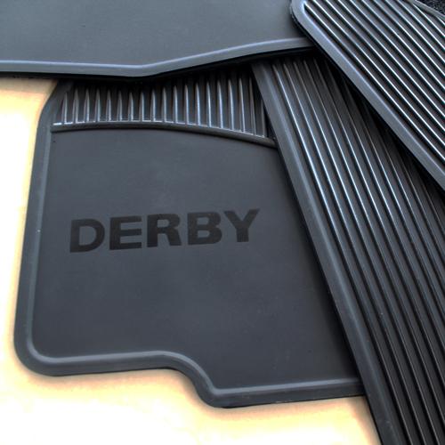 Tapetes Originales Volkswagen Derby 1995-2009 Envio Gratis!